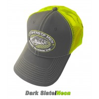 *NEW FOM Slate Grey/Neon Hat