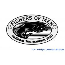FOM Vinyl Decal Black