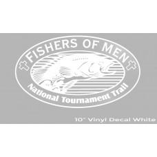 FOM Vinyl Decal White